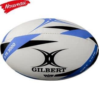 Ballon rugby Gilbert G-TR3000 bleu