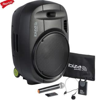 Sono portable MKenceint MK2 Bluetooth 350W et 400W